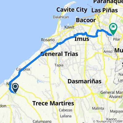 Naic - Indang Road to Marcos Alvarez Avenue 888, Las Pinas