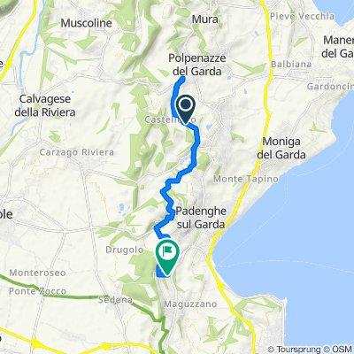Da Via Monstagol 14–18, Soiano Del Lago a Via Sant'Anna 65, Padenghe Sul Garda