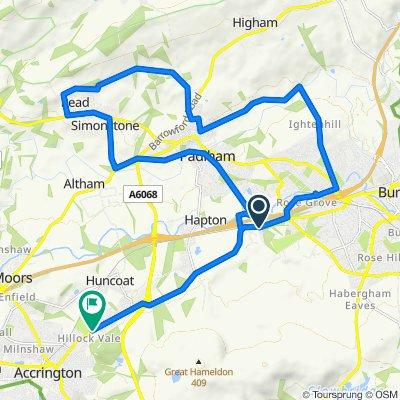 50, Valley Gardens, Burnley to 338 Burnley Road, Accrington