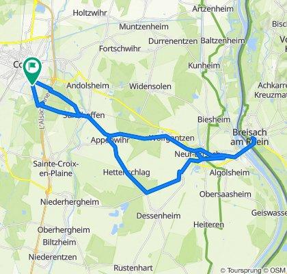 Colmar - Breisach