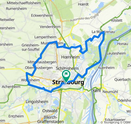 Rund um Straßburg