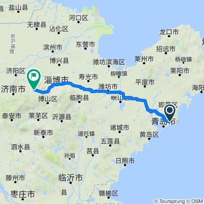 Haiyuan East Road, Qingdao to Chang'an Road, Jinanhome