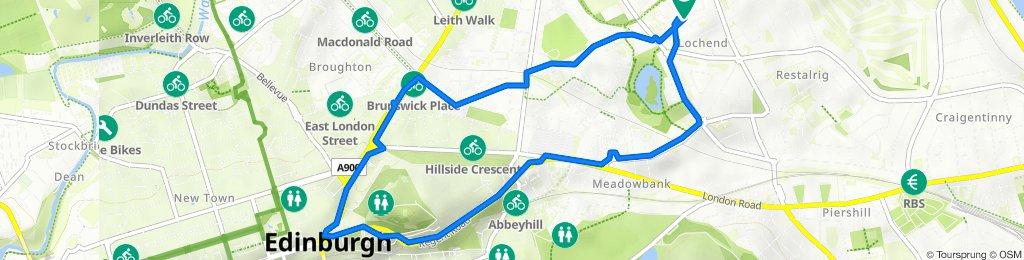 44 Hawkhill, Edinburgh to 44 Hawkhill, Edinburgh
