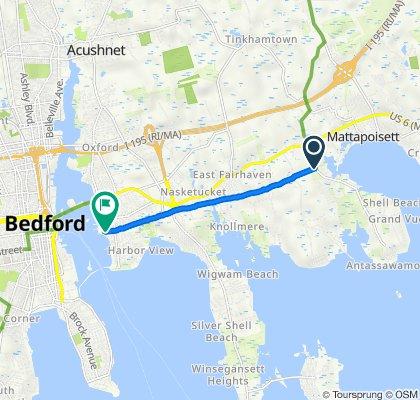 Fairhaven Bike Path 1 Way