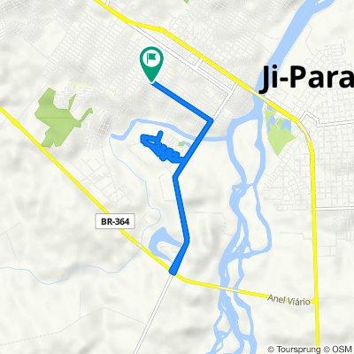 De Avenida Ji-Paraná, 1739, Ji-Paraná a Avenida Ji-Paraná, 1739, Ji-Paraná