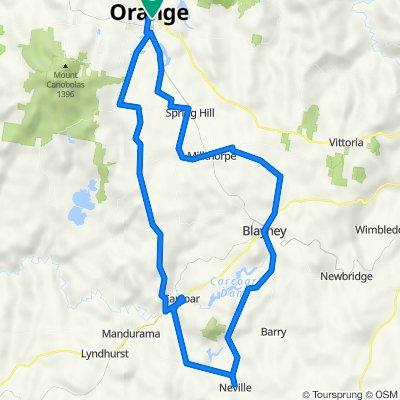 3 Day 2 Night Orange & Villages Tour