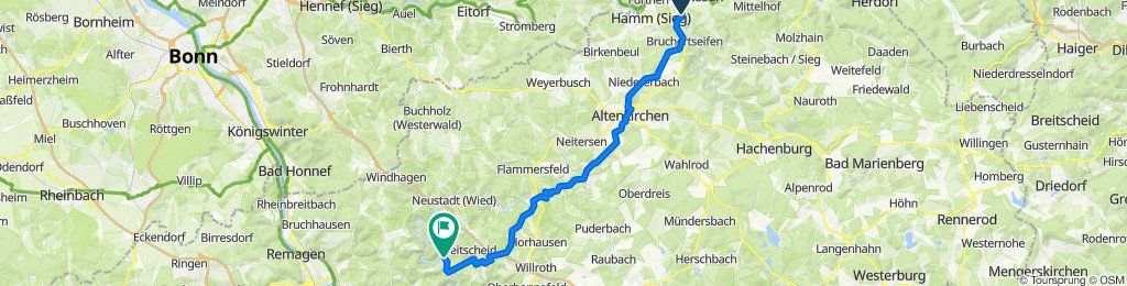 Baumschulenweg 8, Roth nach Brückenstraße 3–5, Roßbach