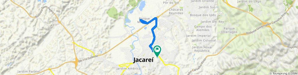 De Rua Abrahan Lincoln, 122–216, Jacareí a Rua Simon Bolívar, 169, Jacareí