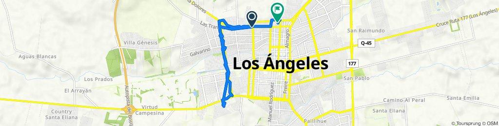 De Orompello 912, Los Angeles a Avenida Almirante Latorre 350, Los Angeles