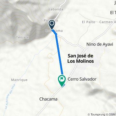 De 1SC 43, San José de los Molinos a 1SC