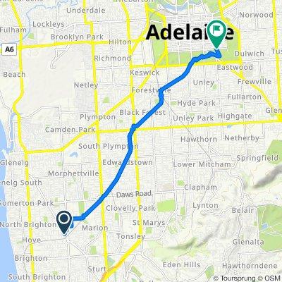 241 Diagonal Road, Warradale to 326 South Terrace, Adelaide