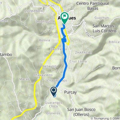 De Via Guarumales Méndez, Borrero a Luis Cordero Crespo 7-02, Azogues