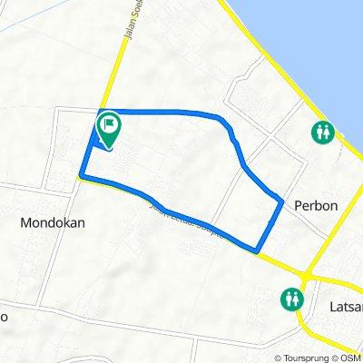 Jalan Lombok 25, Kecamatan Tuban to Jalan Lombok 25, Kecamatan Tuban