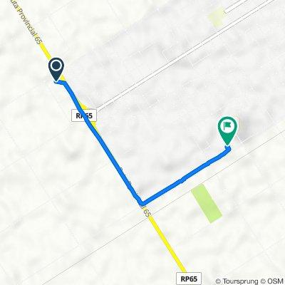 Ruta a Urquiza, 9 de Julio