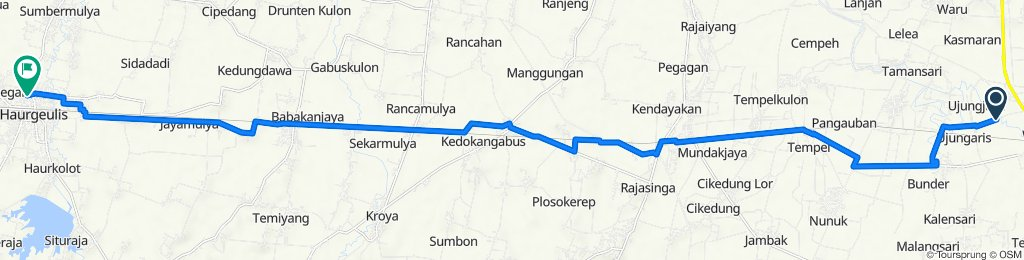 Unnamed Road, Widasari to Unnamed Road, Haurgeulis