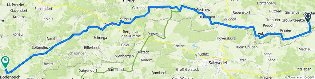 L260 20, Lemgow nach Schlehenweg 12, Bad Bodenteich