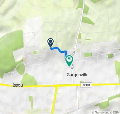 De Chemin de la Justice, Gargenville à 7 Rue de Bretagne, Gargenville