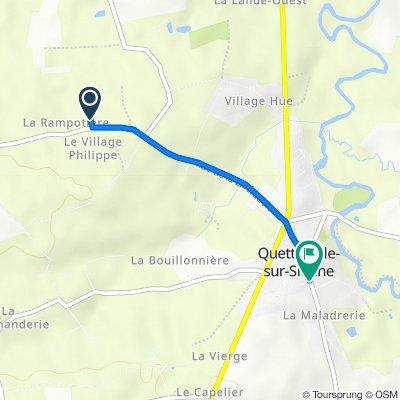 De 40A Rue de la Libération, Quettreville-sur-Sienne à 81 Rue de l'Église, Quettreville-sur-Sienne