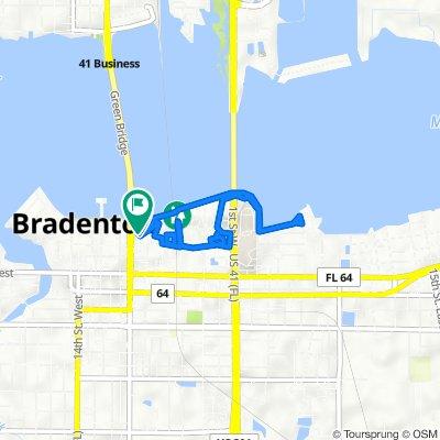808 Third Ave W, Bradenton to 209 Ninth St W, Bradenton