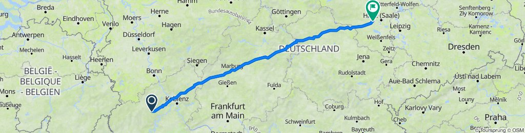 Heuweg 2–8, Müllenbach nach Friedrich-Henze-Straße 76, Teutschenthal