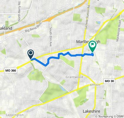 9031 Watson Rd, Crestwood to 8146–8198 Briarhaven Trail, Marlborough
