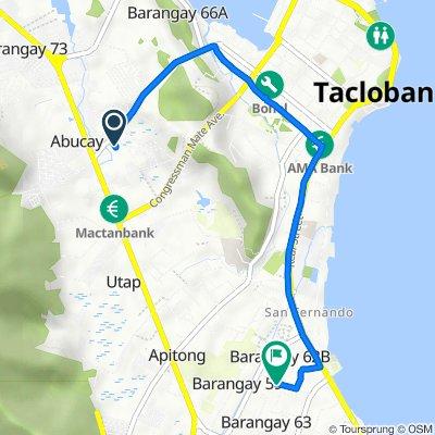 Quezon Boulevard 30, Tacloban City to Harmony Lane Subdivision Road, Tacloban City