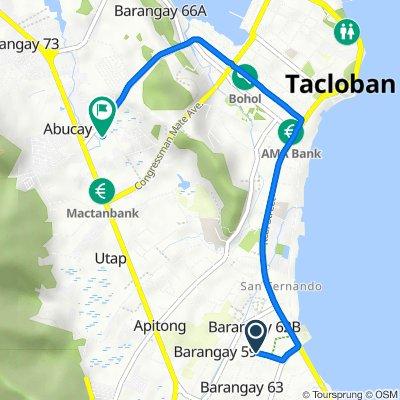 Philippines, Tacloban City to Tacloban New Transport Terminal, Tacloban City