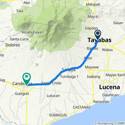 A. Dela Cruz Street 156, Tayabas to Pan-Philippine Highway, Candelaria
