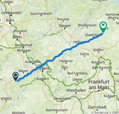Heuweg 2–8, Müllenbach nach Markt 11, Marburg