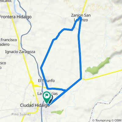 De RN-8, Ciudad Tecún Umán a Ciudad Tecún Umán