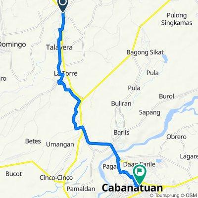 Daang Maharlika Highway, Talavera to Burgos Avenue, Cabanatuan City