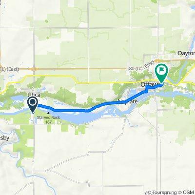Route from IL-178, Utica