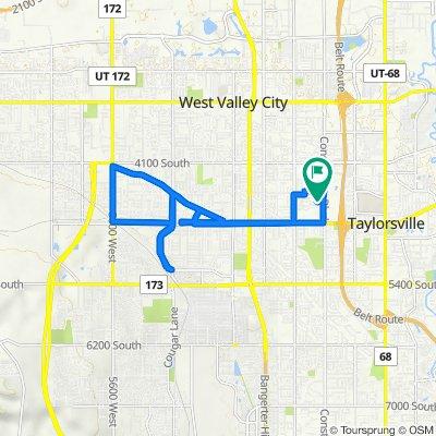 S Parkbury Way, West Valley City to S Parkbury Way, West Valley City