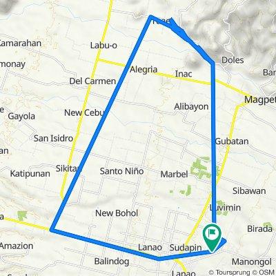 Kidapawan-Ilomavis Tourist Road, Kidapawan City to Kidapawan-Ilomavis Tourist Road, Kidapawan City