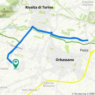 Da Via Cesare Battisti 15, Gerbole a Via Marocco 6, Gerbole