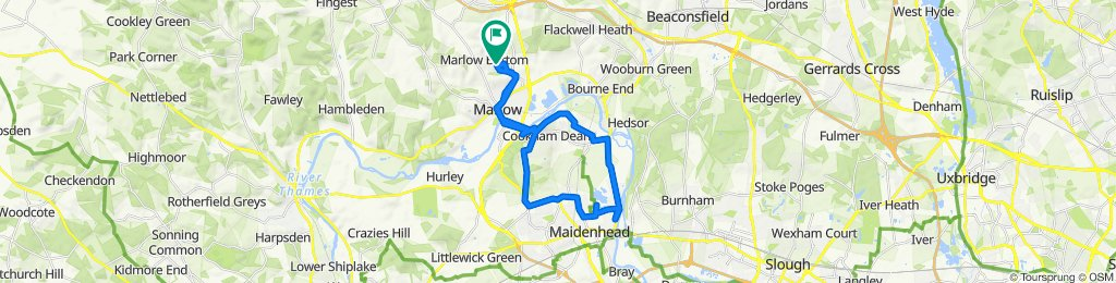 44 New Road, Marlow to 44 New Road, Marlow