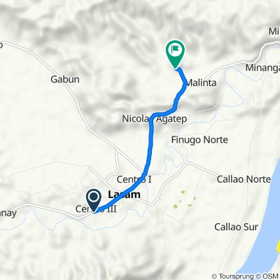 Centro Barangay Road 248, Lasam to Malinta, Lasam