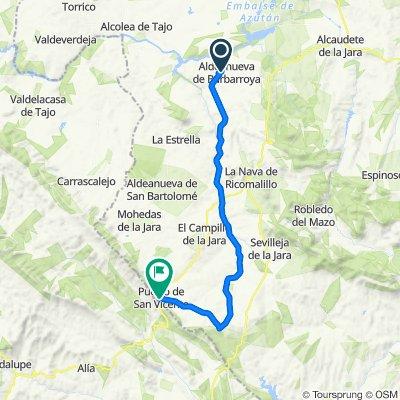 2ª etapa camino guadalupe