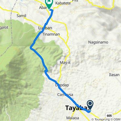 Unnamed Road, Tayabas to Lucban - Luisiana Road