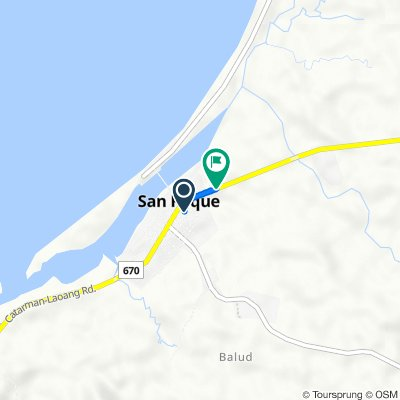 Allen - Catarman - Laoang Road, San Roque to Allen - Catarman - Laoang Road, San Roque