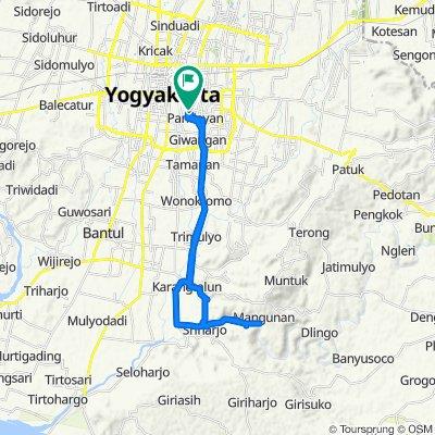 Gang Menur 8, Kecamatan Umbulharjo to Tahunan, Kecamatan Umbulharjo