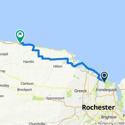 480 Oakridge Dr, Rochester to 37–49 Park Service Rd, Hamlin