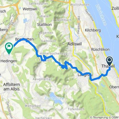 Thalwil / See Radfahren