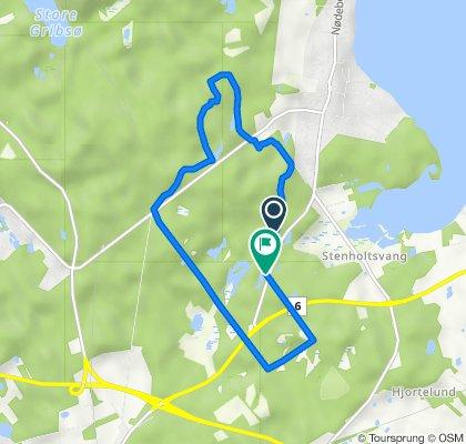Skovløbervej, Fredensborg to Skelvej, Fredensborg
