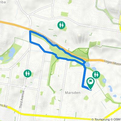 58 Lynelle Street, Marsden to 58 Lynelle Street, Marsden