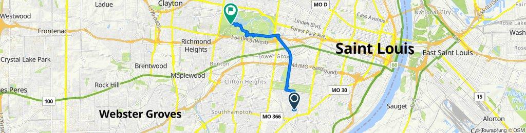 3948 Potomac St, St. Louis to Valley Dr, St. Louis