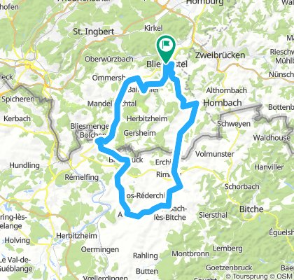 BIKE-AID Grenzland Tour - 71 km Permanente des BIKE-AID e.V.