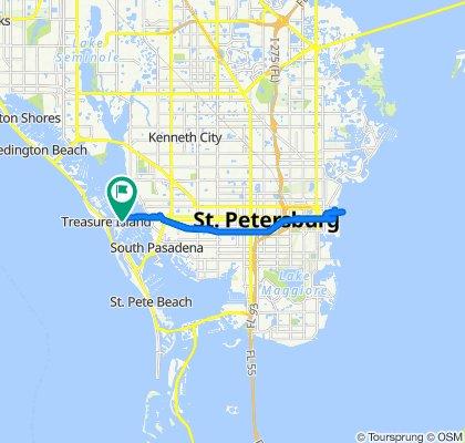 10365 Paradise Blvd, Treasure Island to Paradise Blvd, Treasure Island