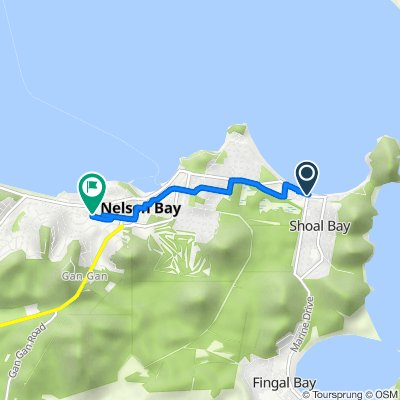 Shoal Bay Road, Shoal Bay to 16 Primary Crescent, Nelson Bay