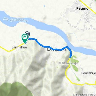 De H-76, Lamarhue a H-76, Lamarhue